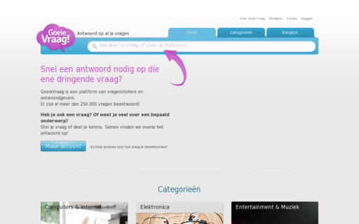 Access goeievraag.nl using Hola Unblocker web proxy