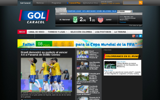 Access golcaracol.com using Hola Unblocker web proxy
