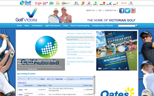 Access golfvic.org.au using Hola Unblocker web proxy