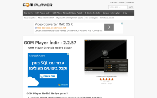 Access gomplayer.org using Hola Unblocker web proxy