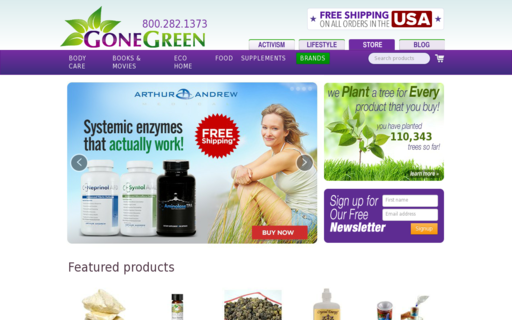 Access gonegreenstore.com using Hola Unblocker web proxy