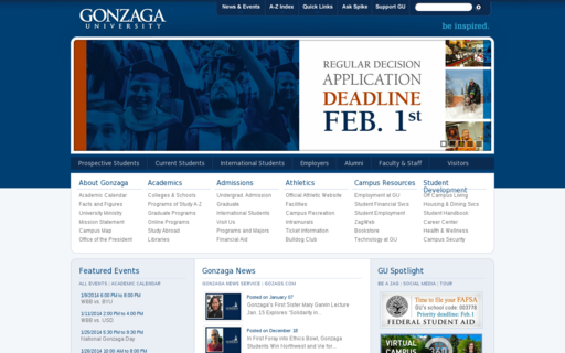 Access gonzaga.edu using Hola Unblocker web proxy