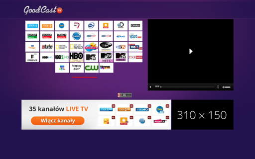 Access goodcast.tv using Hola Unblocker web proxy