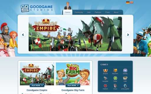 Access goodgamestudios.com using Hola Unblocker web proxy
