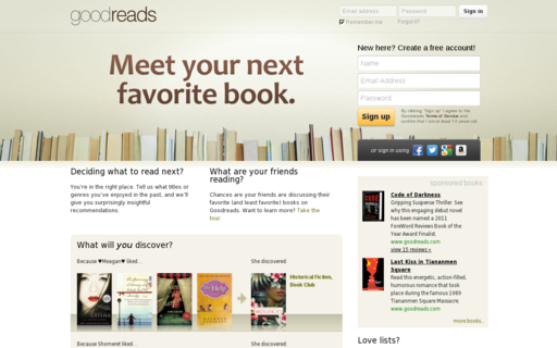 Access goodreads.com using Hola Unblocker web proxy