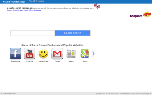 Access google-search.net using Hola Unblocker web proxy