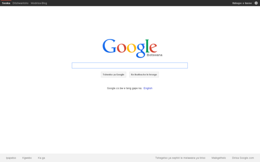 Access google.co.bw using Hola Unblocker web proxy