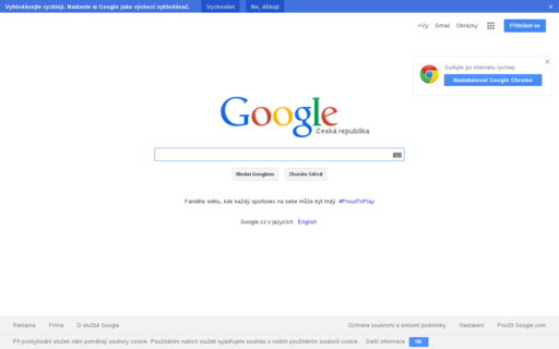Access google.cz using Hola Unblocker web proxy