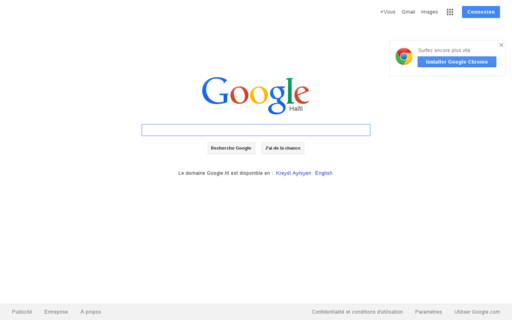 Access google.ht using Hola Unblocker web proxy
