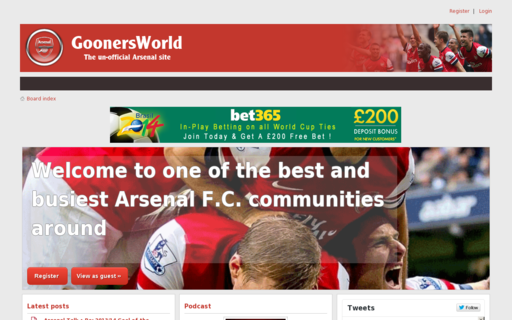 Access goonersworld.co.uk using Hola Unblocker web proxy