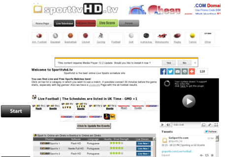 Access gosporttv.com using Hola Unblocker web proxy