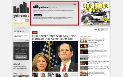 Access gothamist.com using Hola Unblocker web proxy