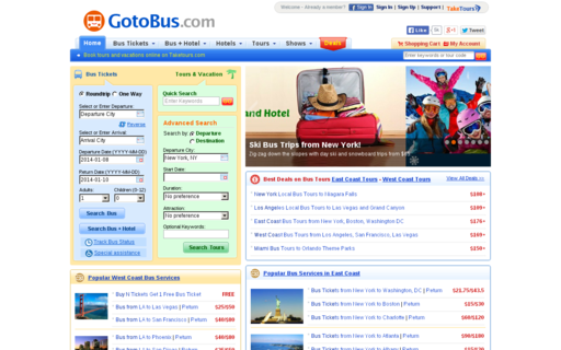 Access gotobus.com using Hola Unblocker web proxy