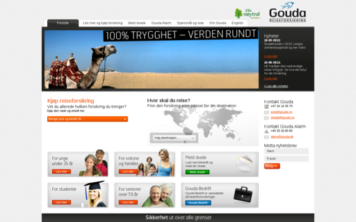 Access gouda.no using Hola Unblocker web proxy