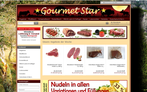 Access gourmetstar.de using Hola Unblocker web proxy
