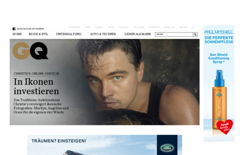 Access gq-magazin.de using Hola Unblocker web proxy