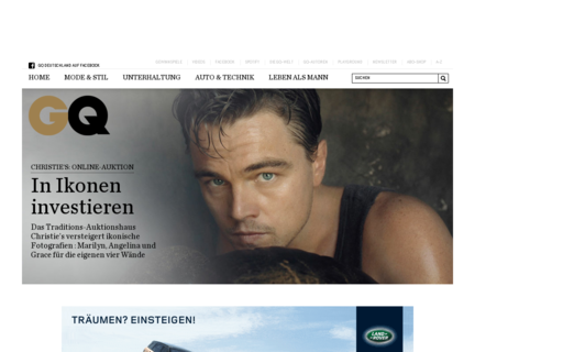 Access gq.de using Hola Unblocker web proxy