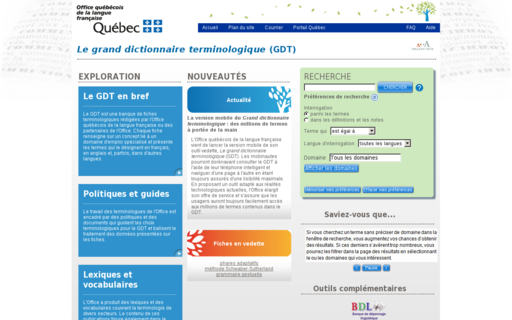 Access granddictionnaire.ca using Hola Unblocker web proxy