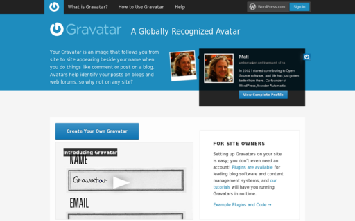 Access gravatar.com using Hola Unblocker web proxy