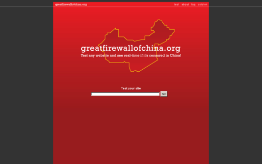 Access greatfirewallofchina.org using Hola Unblocker web proxy