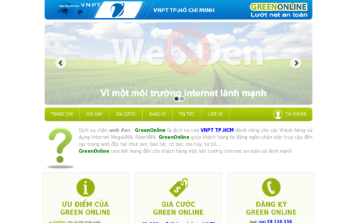 Access greenonline.com.vn using Hola Unblocker web proxy