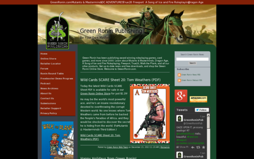 Access greenronin.com using Hola Unblocker web proxy