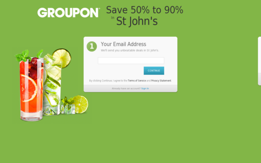 Access groupon.com using Hola Unblocker web proxy