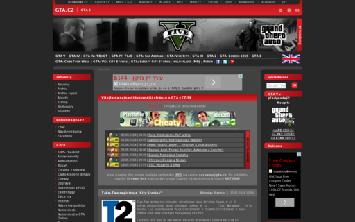 Access gta.cz using Hola Unblocker web proxy
