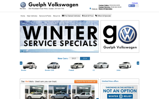 Access guelph-vw.ca using Hola Unblocker web proxy