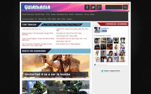 Access guiamania.com using Hola Unblocker web proxy