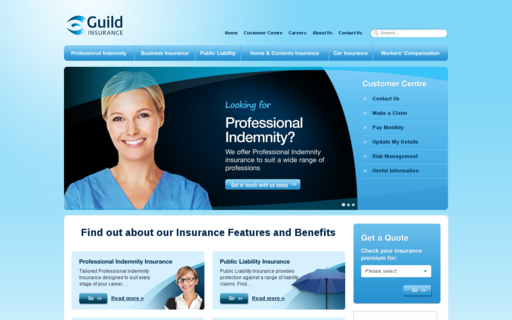 Access guildinsurance.com.au using Hola Unblocker web proxy