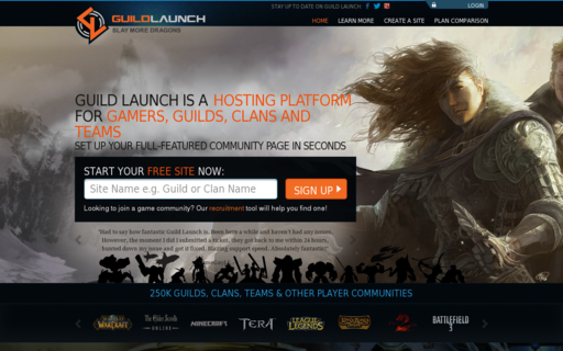 Access guildlaunch.com using Hola Unblocker web proxy