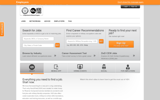 Access h2h.jobs using Hola Unblocker web proxy