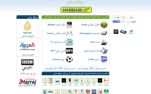 Access habbabi.com using Hola Unblocker web proxy
