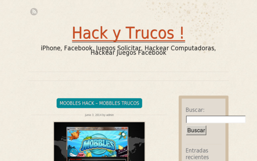 Access hack-y-trucos.net using Hola Unblocker web proxy