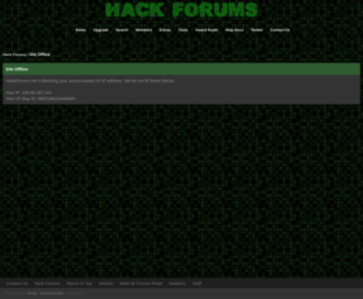 Access hackforums.net using Hola Unblocker web proxy