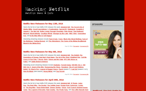Access hackingnetflix.com using Hola Unblocker web proxy