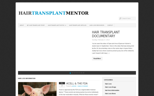 Access hairtransplantmentor.com using Hola Unblocker web proxy