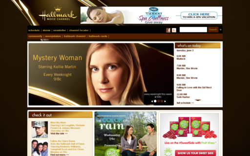 Access hallmarkmoviechannel.com using Hola Unblocker web proxy
