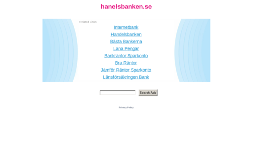 Access hanelsbanken.se using Hola Unblocker web proxy