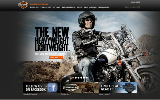 Access harley-davidson.com using Hola Unblocker web proxy