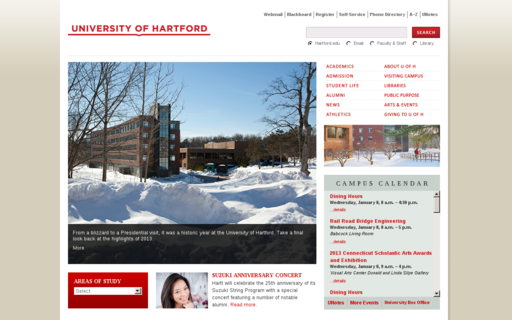 Access hartford.edu using Hola Unblocker web proxy