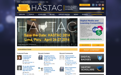 Access hastac.org using Hola Unblocker web proxy