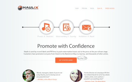 Access haulix.com using Hola Unblocker web proxy