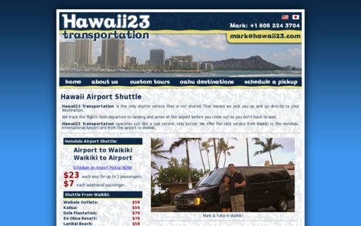 Access hawaii23.com using Hola Unblocker web proxy