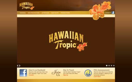 Access hawaiiantropic.com using Hola Unblocker web proxy
