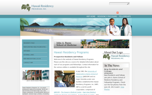 Access hawaiiresidency.org using Hola Unblocker web proxy