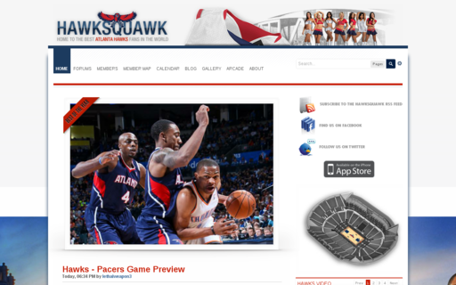 Access hawksquawk.net using Hola Unblocker web proxy