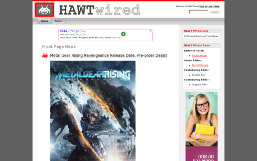 Access hawtwired.com using Hola Unblocker web proxy