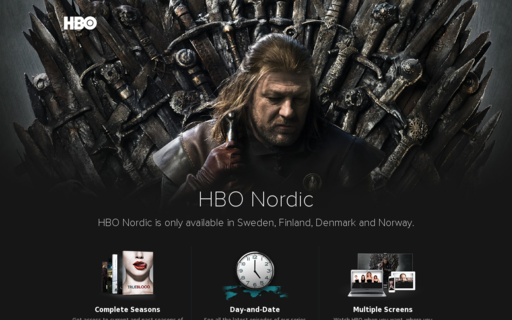Access hbonordic.se using Hola Unblocker web proxy
